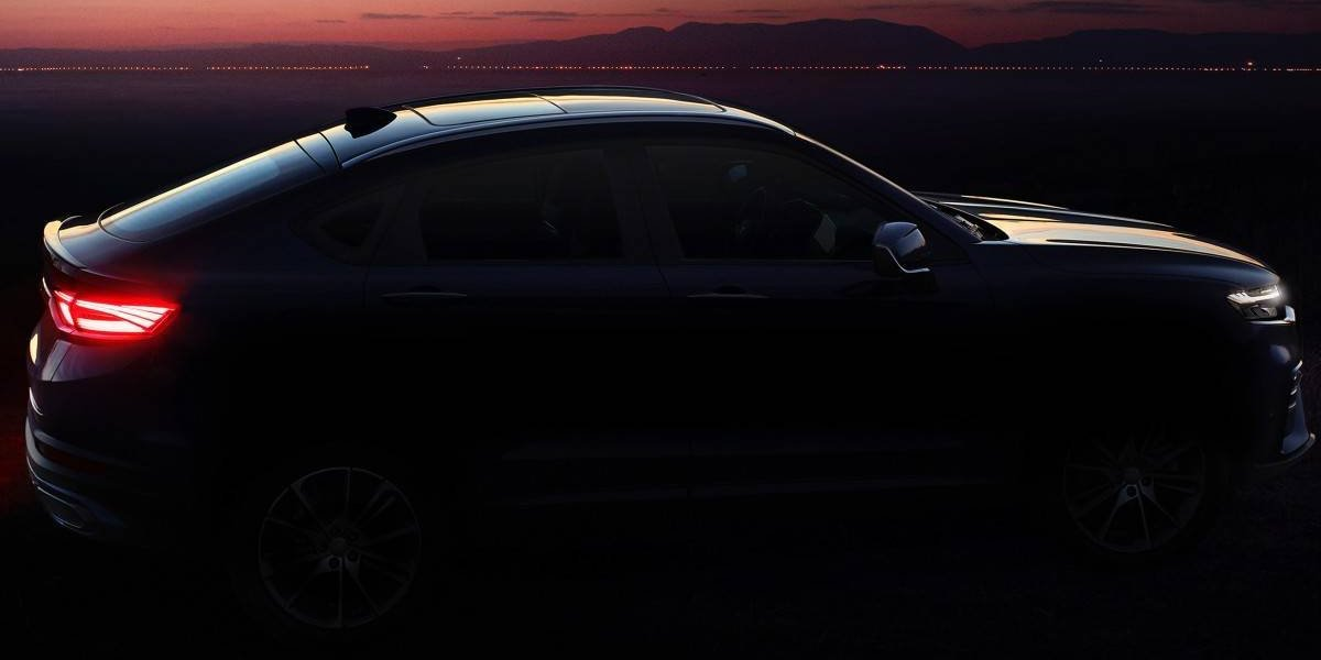 Geely trae un SUV Coupe