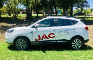Test drive JAC S5