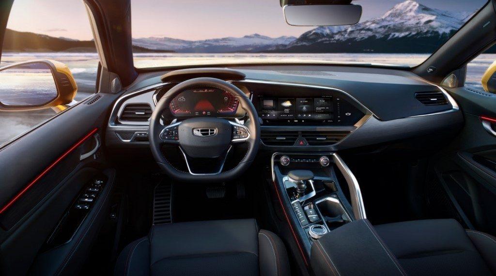 Geely presenta el interior del Suv Coupe FY11