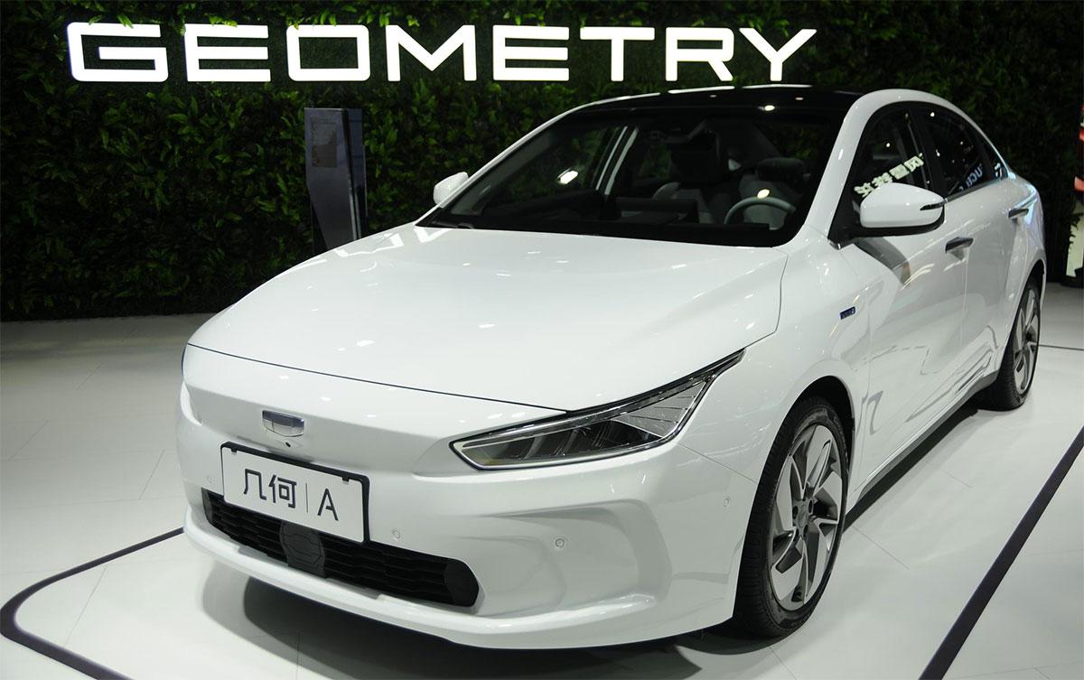 Geometry: la nueva marca de autos premium 100% eléctricos creada por Geely