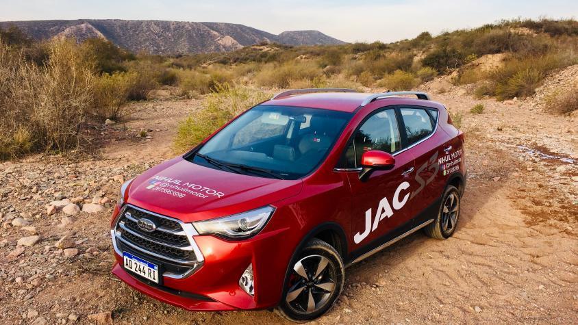 Test Drive JAC S3