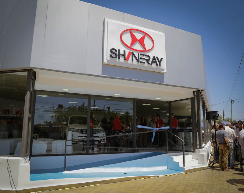Shineray argentina local
